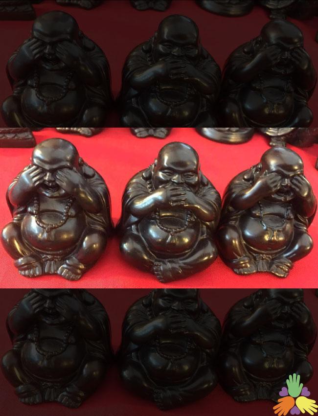 3 Chinese Buddha set