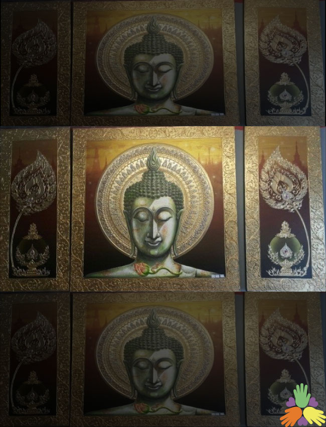 150/100 inches Buddha Frame