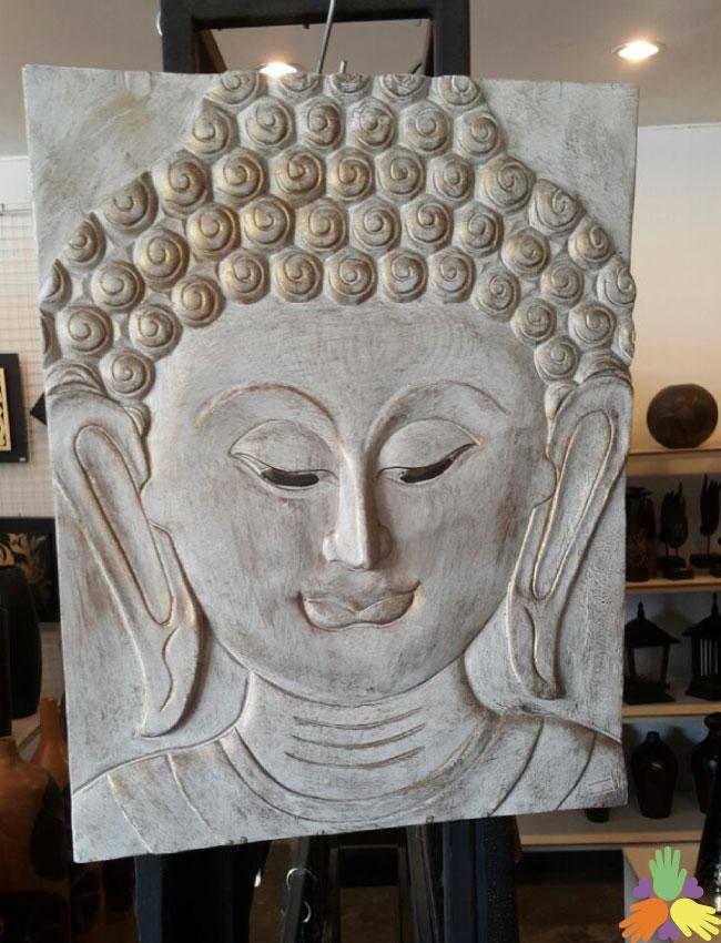 White Buddha Frame