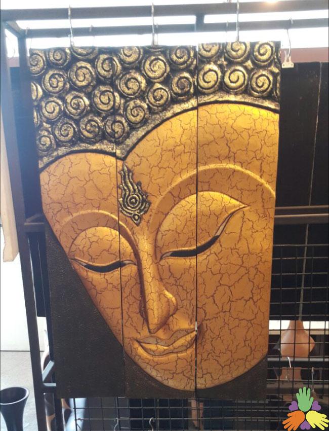 3 Piece Buddha Gold