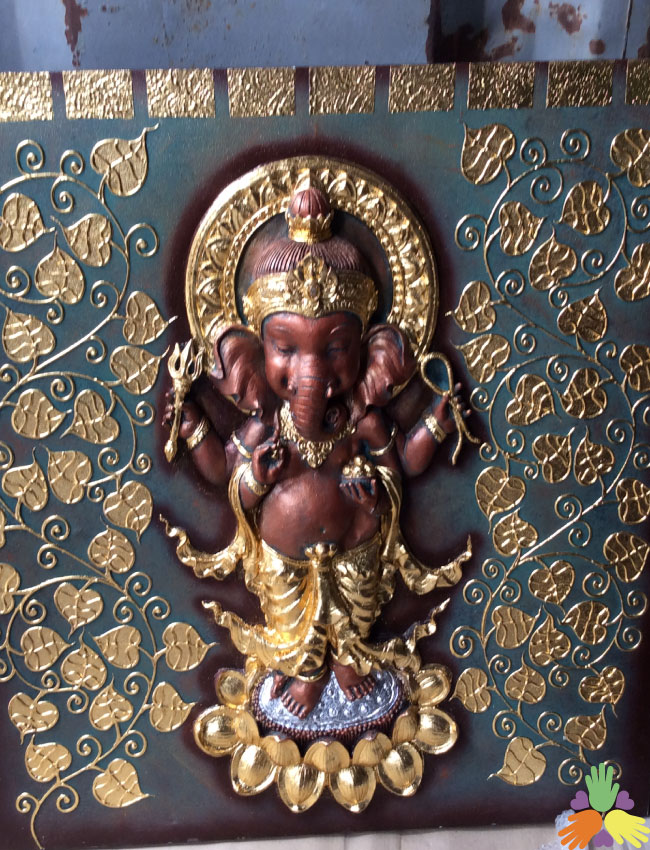 1x1 Meter 3D Ganesh