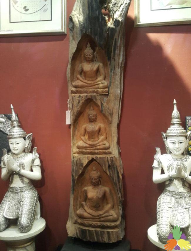 Long 3 Buddha Statue